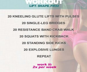 workout, butt, and healthy image