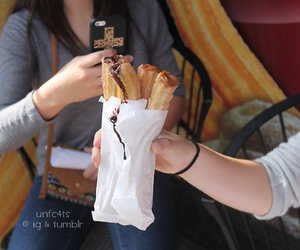 food, churros, and quality image