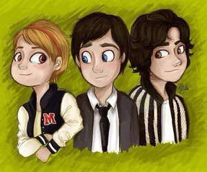 charlie, logan lerman, and Sam image