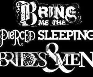 pierce the veil, black veil brides, and of mice and men image