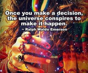 universe, quotes, and decision image