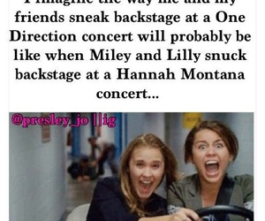 one direction and hannah montana image