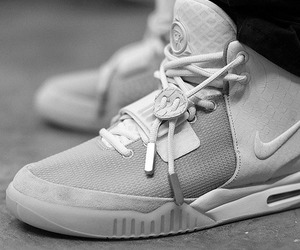 sneakers, yeezy 2, and nike air yeezy 2 image
