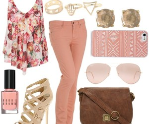 fashion, floral, and hipster image