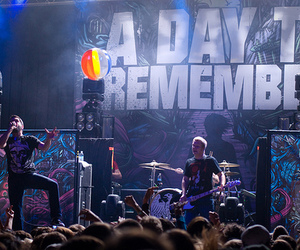a day to remember, adtr, and concert image