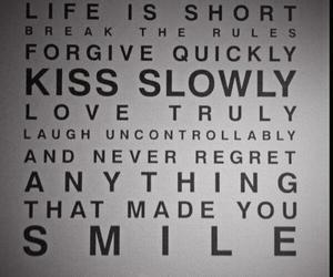 life, smile, and kiss image