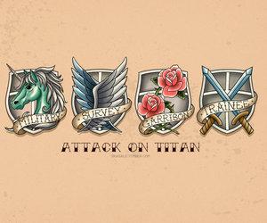 anime, attack on titan, and shingeki no kyojin image