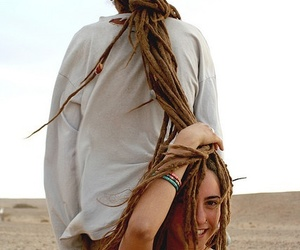 dreadlocks, dreads, and rastafari image