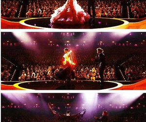 catching fire, katniss everdeen, and Jennifer Lawrence image
