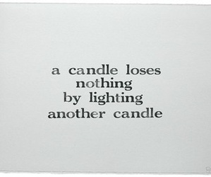 quote, candle, and life image
