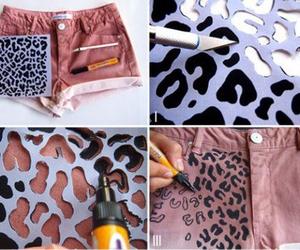 short, shorts, and pink image