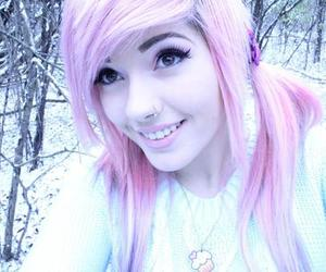 pink hair, girl, and pretty image