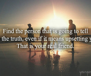 friend, true, and quote image