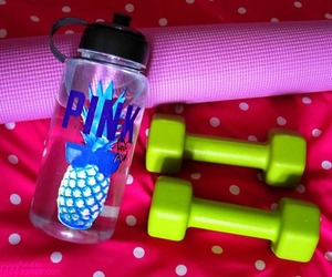 pink, fitness, and fit image