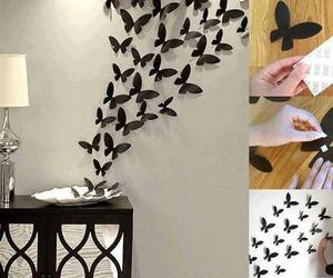 butterfly, diy, and decoration image