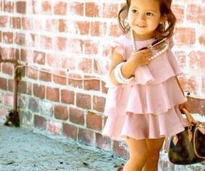 cute, child, and dress image