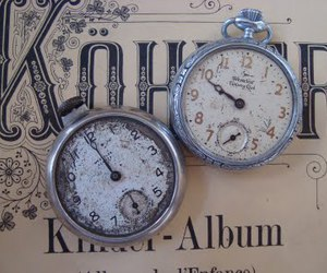 antique, french, and pocket watch image