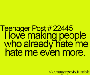 hate, funny, and haters image