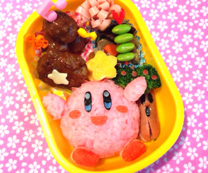 japan, kirby, and lunch box image