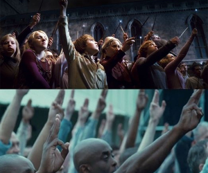 harry potter, the hunger games, and tribute image