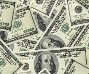 money, wallpaper, and dollar image