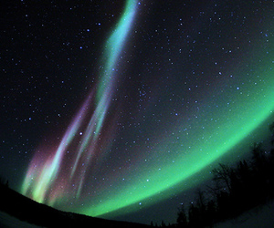 sky and polar lights image