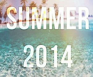 summer, 2014, and palms image