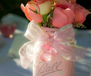 flowers, pink, and diy image