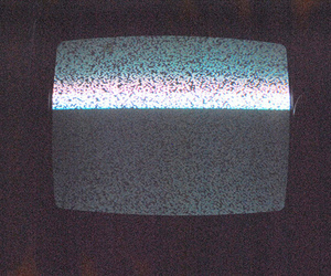 tv and grunge image