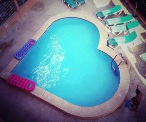 cool, pool, and summer image