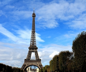 eiffel tower, paris, and picture image