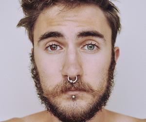 piercing, eyes, and boy image
