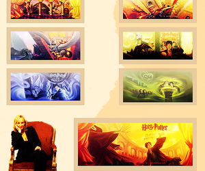 books, jk rowling, and harry potter image