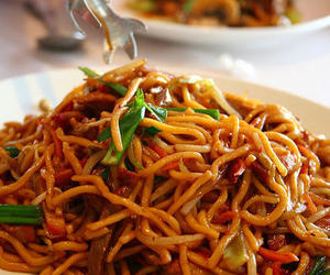 noodles, food, and asian food image