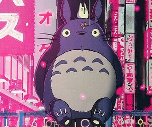 totoro, anime, and japan image