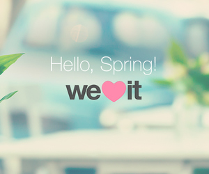 spring, we heart it, and hello image