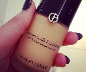 girl, Armani, and beauty image