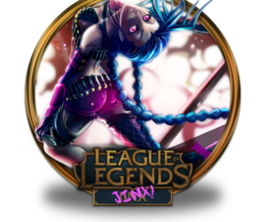 jinx and league of legends image