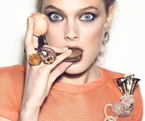 fashion, macarons, and model image
