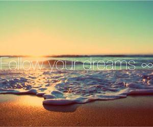 beach, dreams, and fun image