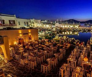 Greece and night image