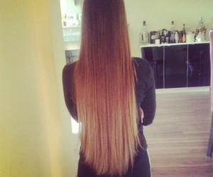 beautiful, hair, and long image