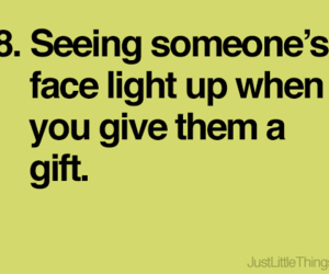 face, gift, and happiness image