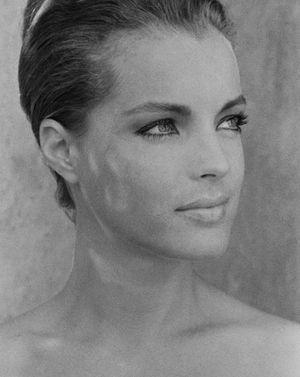 beautiful and Romy Schneider image