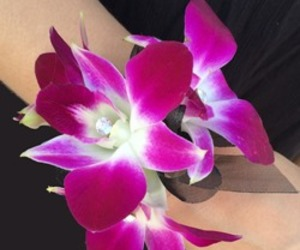 orchids, Prom, and corsages image