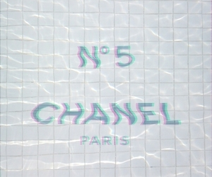 chanel, grunge, and water image