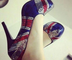 beautiful, shoes, and paiette image