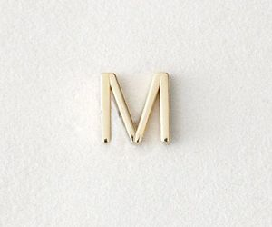 Letter and M image