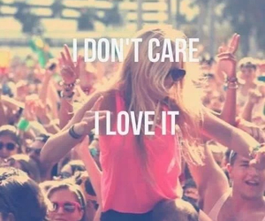 party, i don't care, and I love it image