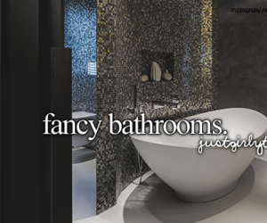 bathrooms, fancy, and justgirlythings image